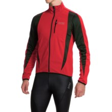 Gore Bike Wear Contest Soft Shell Cycling Jacket - Windstopper® (For Men) in Red/Black - Closeouts