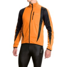 Gore Bike Wear Contest Soft Shell Cycling Jacket - Windstopper® (For Men) in Vibrant Orange/Black - Closeouts