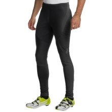 Gore Bike Wear Contest Soft Shell Cycling Tights - Windstopper® (For Men) in Black - Closeouts
