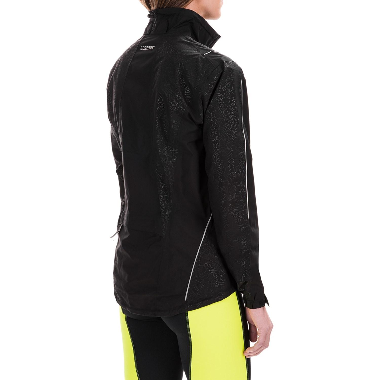Womens waterproof cycling jacket