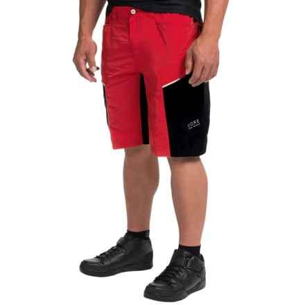 Gore Bike Wear Countdown 2.0 Mountain Biking Shorts (For Men) in Red/Black - Closeouts