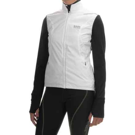 Gore Bike Wear Countdown Windstopper® Active Shell Cycling Vest (For Women) in White - Closeouts