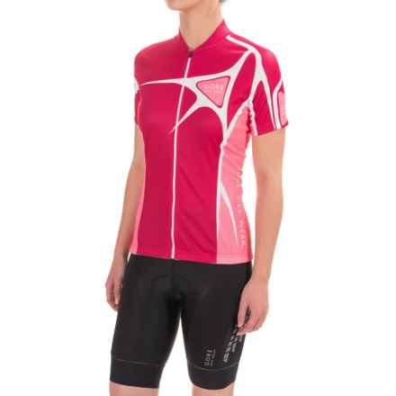Gore Bike Wear Element Adrenaline 2.0 Cycling Jersey - Short Sleeve (For Women) in Jazzy Pink/Giro Pink - Closeouts