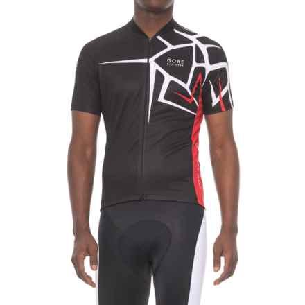 Gore Bike Wear Element Adrenaline 4.0 Cycling Jersey - Short Sleeve (For Men) in Black - Closeouts