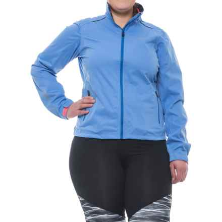 Gore Bike Wear Element Gore-Tex® Active Cycling Jacket - Waterproof (For Women) in Blizzard Blue/Brilliant Blue - Closeouts