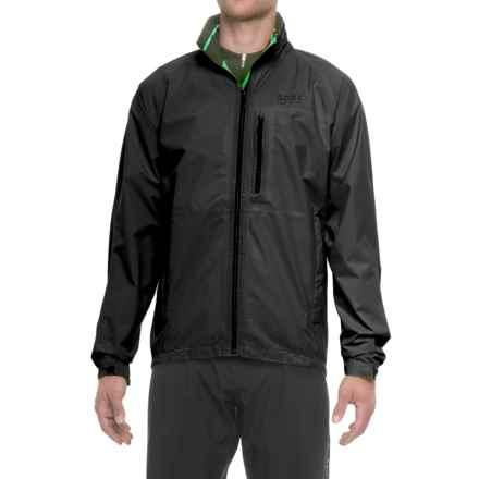 Gore Bike Wear Element Gore-Tex® Jacket - Waterproof (For Men) in Black - Closeouts
