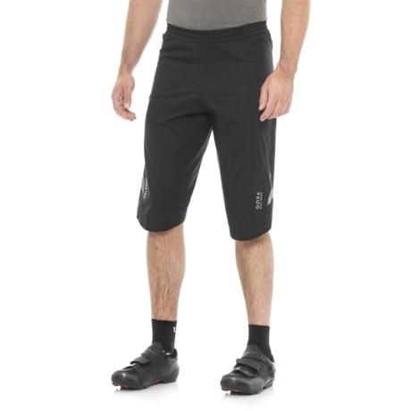 Gore Bike Wear Element Gore-Tex® PacLite® Shorts - Waterproof (For Men) in Black