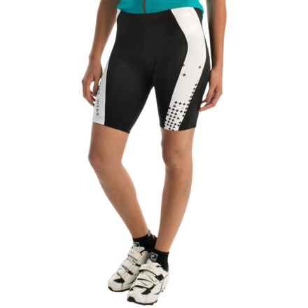 Gore Bike Wear Element Pixel Cycling Shorts (For Women) in Black/White - Closeouts