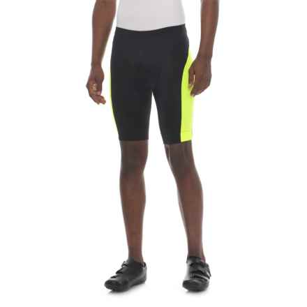 Gore Bike Wear Element Tight Shorts (For Men) in Black/Neon Yellow - Closeouts