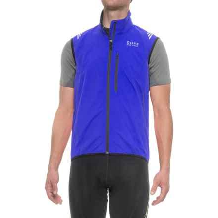 Gore Bike Wear Element Windstopper® Active Vest (For Men) in Brilliant Blue - Closeouts