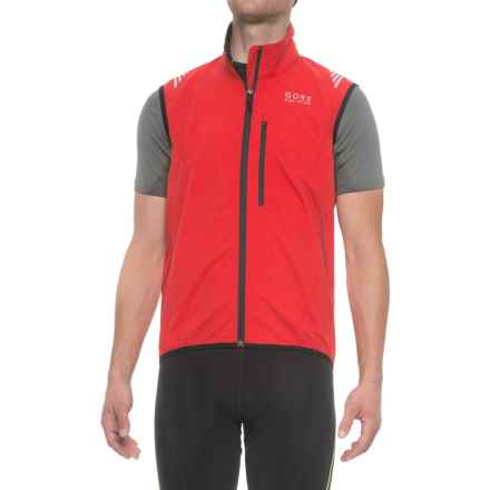 Gore Bike Wear Element Windstopper® Active Vest (For Men) in Red - Closeouts