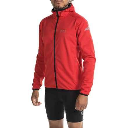 Gore Bike Wear Element Windstopper® Jacket (For Men) in Red - Closeouts