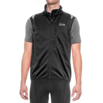 Gore Bike Wear Element Windstopper® Soft Shell Vest (For Men) in Black - Closeouts