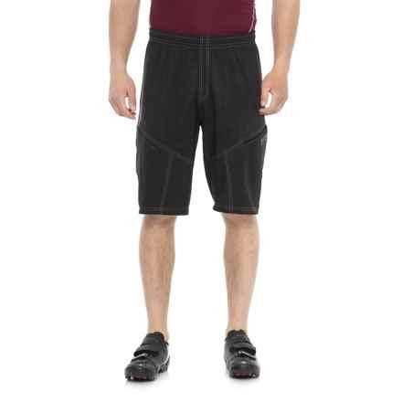 Gore Bike Wear Mountain Bike Shorts - Removable Liner Shorts (For Men) in Black - Closeouts