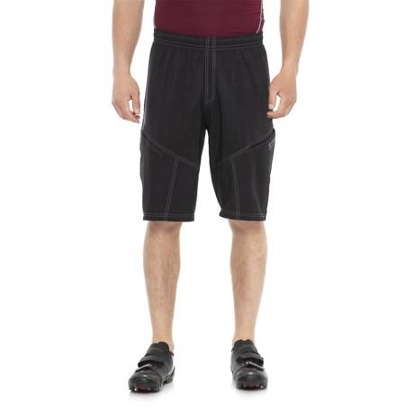 Gore Bike Wear Mountain Bike Shorts - Removable Liner Shorts (For Men) in Black
