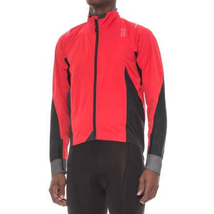 Gore Bike Wear Oxygen 2.0 Gore-Tex® Active Cycling Jacket - Waterproof (For Men) in Red/Black - Closeouts