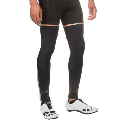 Gore Bike Wear Oxygen Leg Warmers (For Men) in Black - Closeouts