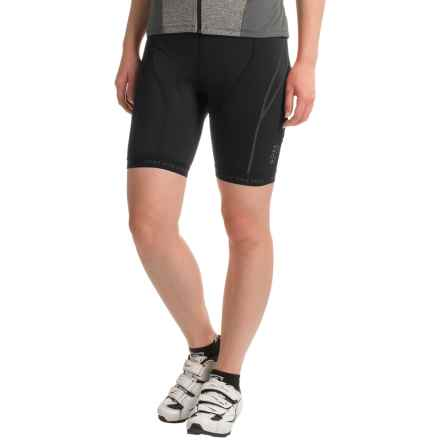 Gore Bike Wear Oxygen Tights Cycling Shorts - Built-In Seat Insert (For Women) in Black - Closeouts