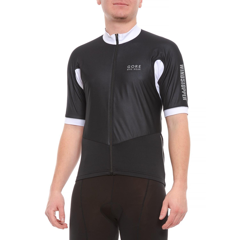 Gore Bike Wear Oxygen Windstopper® Cycling Jersey - Short Sleeve (For Men)  in ... 3a4ff2089