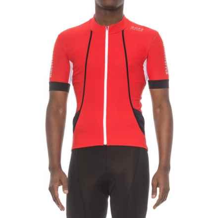 Gore Bike Wear Oxygen Windstopper® Cycling Jersey - Short Sleeve (For Men) in Red/Black - Closeouts