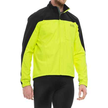 Gore Bike Wear Path Neon Gore-Tex® Cycling Jacket - Waterproof (For Men) in Neon Yellow - Closeouts