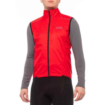 cbbde254dab Gore Bike Wear Path Windstopper® Active Shell Vest (For Men) in Red -