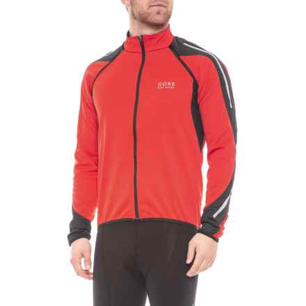 Gore Bike Wear Phantom 2.0 Windstopper® SO Cycling Jacket (For Men) in Red/Black - Closeouts