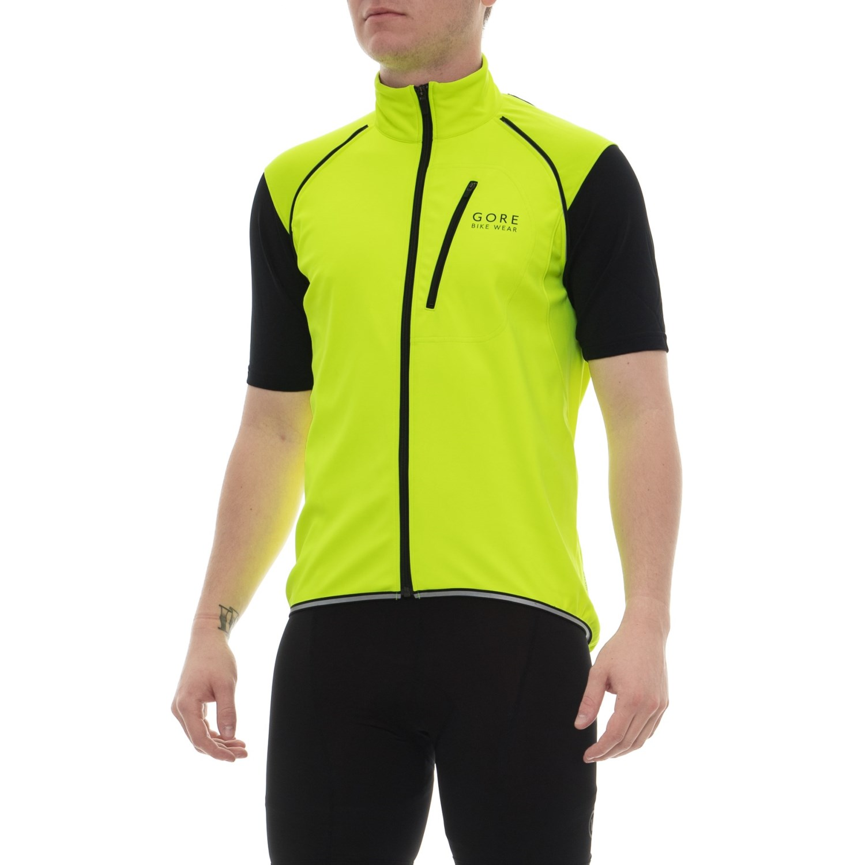 Gore Bike Wear Phantom Plus Windstopper® Cycling Jacket - Zip-Off Sleeves ( For Men) 8c59e29a0