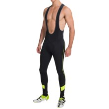 Gore Bike Wear Power 2.0 Thermo Cycling Bib Tights (For Men) in Black/Neon Yellow - Closeouts