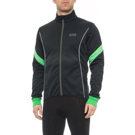 Gore Bike Wear Power 2.0 Windstopper® SO Cycling Jacket (For Men) in Black 87b5ae7b4