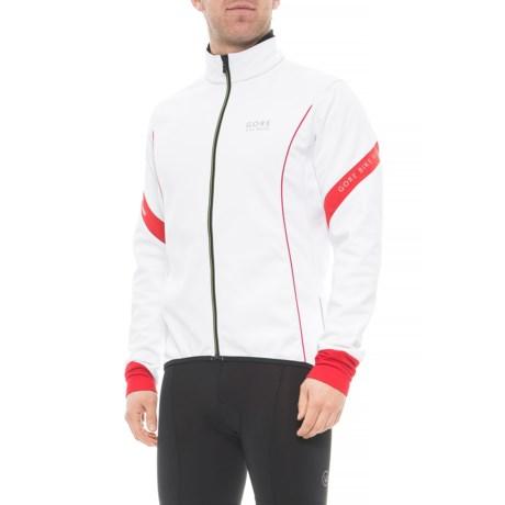 Gore Bike Wear Power 2.0 Windstopper® SO Cycling Jacket (For Men) in White a584be011