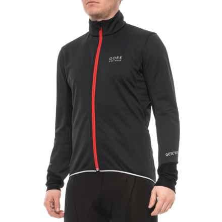Gore Bike Wear Ozon Windstopper Jersey Long Cycling Black//Red