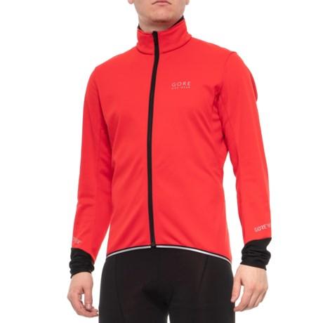 Gore Bike Wear Power 2.0 Windstopper® Soft Shell Cycling Jacket (For Men) in 11ed26ba5