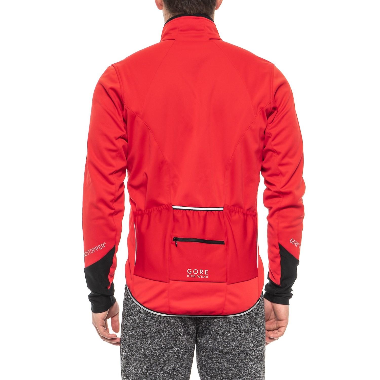 Gore Bike Wear Power 2.0 Windstopper® Soft Shell Cycling Jacket (For Men) abbfe8485