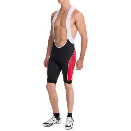 Gore Bike Wear Power 3.0 Cycling Bib Shorts (For Men) in Black/Red - Closeouts