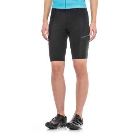 Gore Bike Wear Power CC Tight Shorts (For Women) in Black - Closeouts