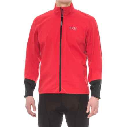 Gore Bike Wear Power Gore-Tex® Jacket - Waterproof (For Men) in Red/Black - Closeouts