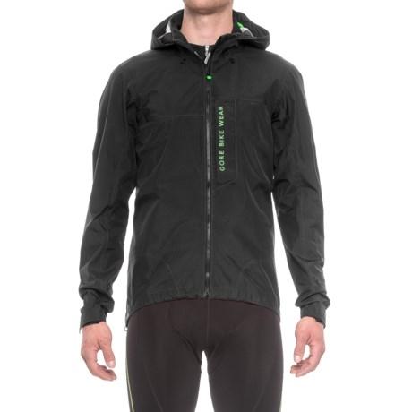 Gore Bike Wear Power Trail Gore-Tex® Active Jacket - Waterproof (For Men) in Black