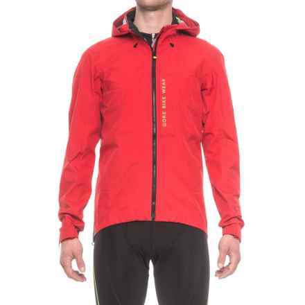 Gore Bike Wear Power Trail Gore-Tex® Active Jacket - Waterproof (For Men) in Red - Closeouts
