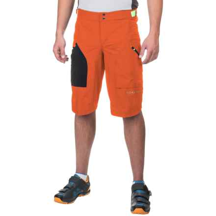 Gore Bike Wear Power Trail Plus Shorts (For Men) in Blaze Orange - Closeouts