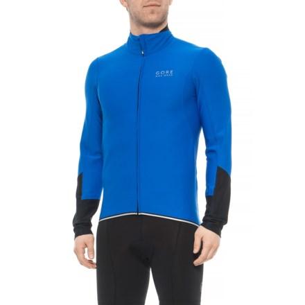 Gore Bike Wear Power Windstopper® Cycling Jersey - Long Sleeve (For Men) in 5b47652cc
