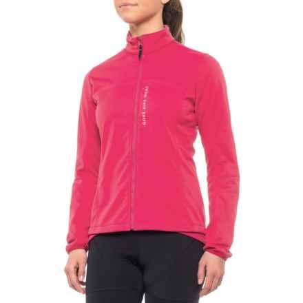 Gore Bike Wear Power Windstopper® Soft Shell Cycling Jacket (For Women) in  Jazzy e9cb9e7bb