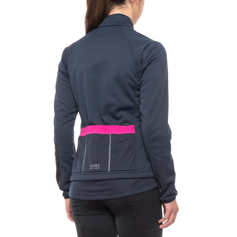 0abe6cc27 Gore Bike Wear Power Windstopper® Soft Shell Cycling Jacket (For Women)