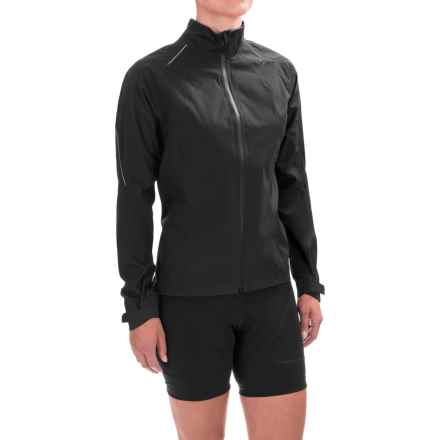 Gore Bike Wear Road Race Gore-Tex® Active Jacket - Waterproof (For Women) in Black - Closeouts