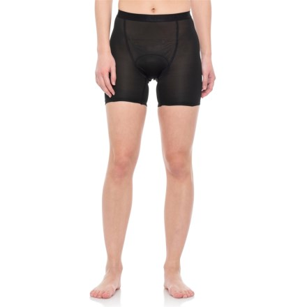 Clearance. Gore Bike Wear Shorty+ Base Layer Shorts (For Women) in Black -  Closeouts 33c92fba8