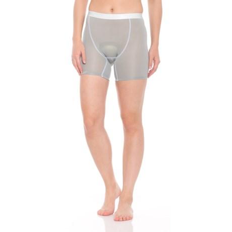 Gore Bike Wear Shorty+ Base Layer Shorts (For Women) in Titan/White