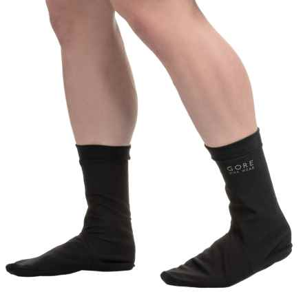 Gore Bike Wear Universal Gore-Tex® Socks - Waterproof, Crew (For Men and Women) in Black - Closeouts