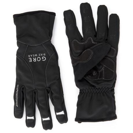 Gore Bike Wear Universal Windstopper® Mid Gloves (For Men and Women) in Black