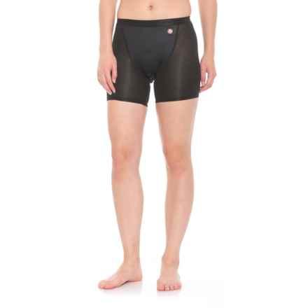 Gore Bike Wear Windstopper® Base Layer Shorts+ (For Women) in Black - Closeouts