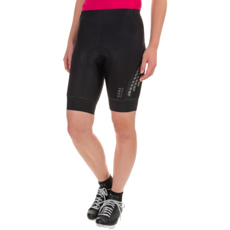 Gore Bike Wear Xenon 2.0 Lady Tights Cycling Shorts - UPF 30+ (For Women) in Black